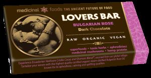Raw Chocolate Lovers Bar with Bulgarian Rose