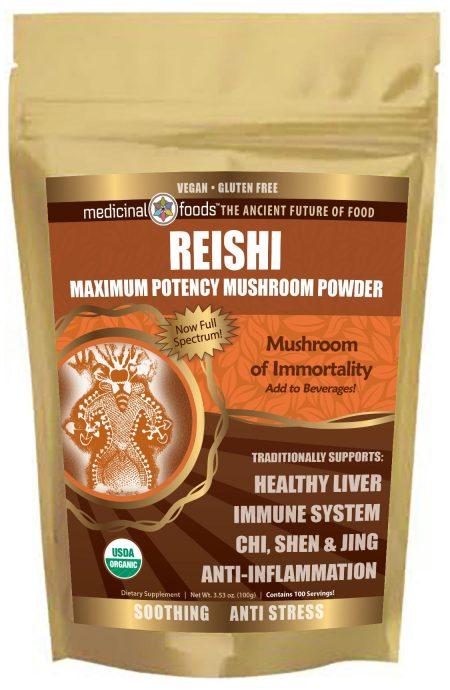 Medicinal-Foods Reishi Mushroom Immunity Boosting Superfood