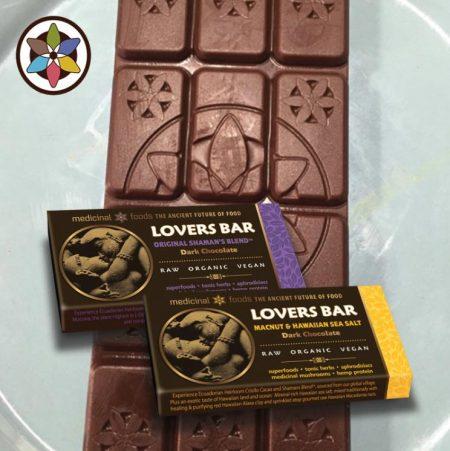 Lovers Bar Organic Dark Chocolate Superfoods