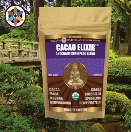 Raw Cacao Elixir Zen Superfood Organic Hot Chocolate