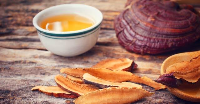 Red Reishi Mushroom Tea