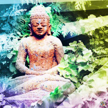 Spirit Tonic Buddha Stonework Meditation Rays