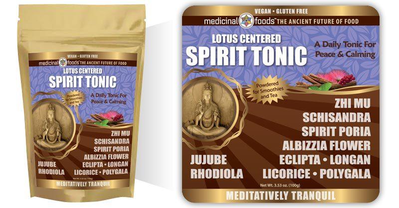 Spirit Tonic Calming Herbs Medicinal Foods