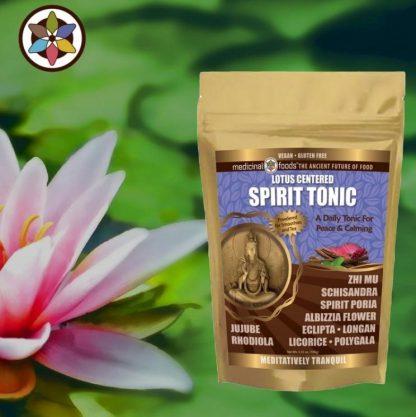 Spirit Tonic Calming Herbs Meditation Superfoods