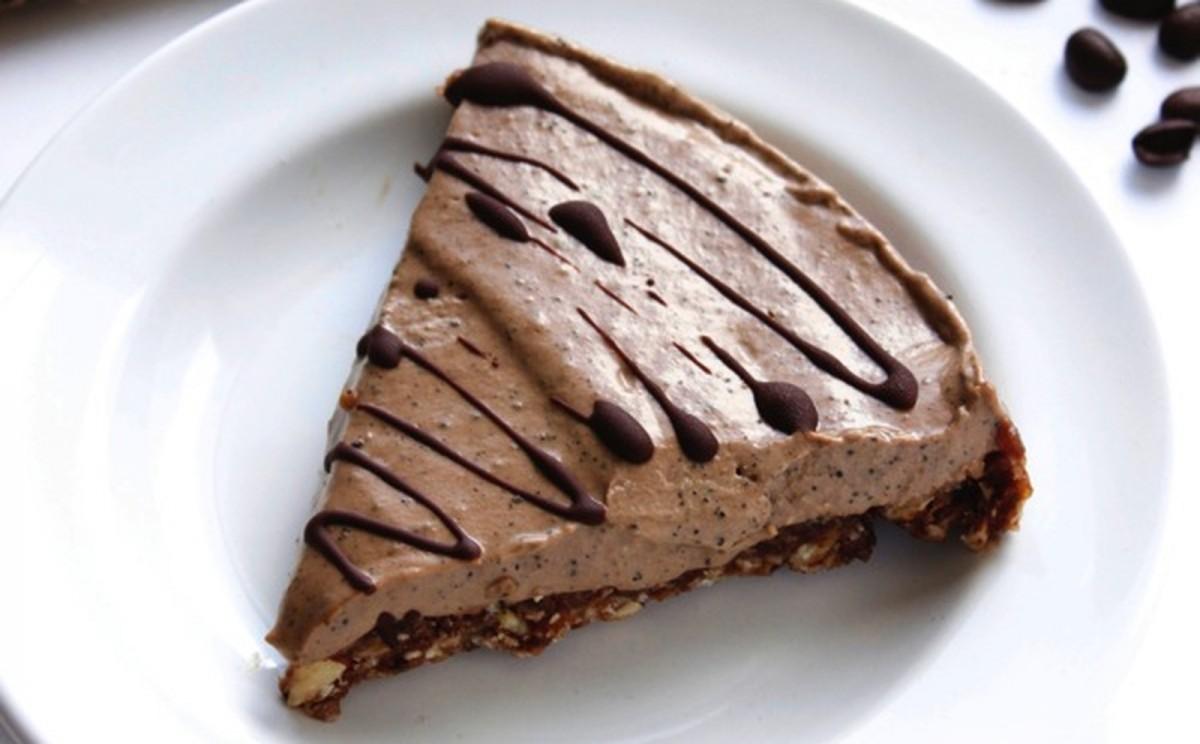 Raw Chocolate Espresso Pie