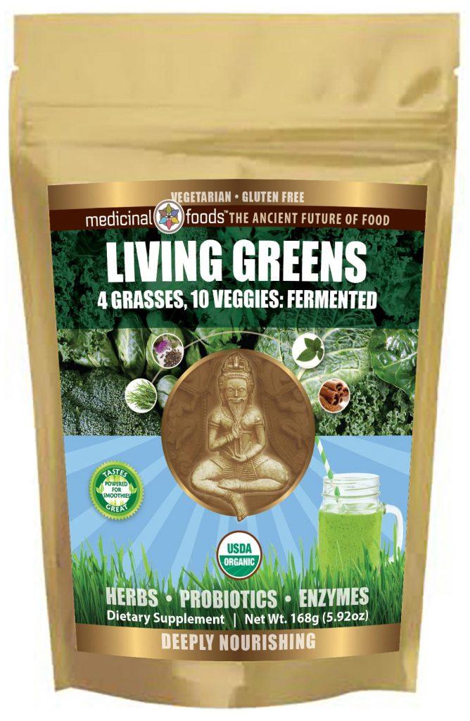 Living Greens organic green Drink Mix