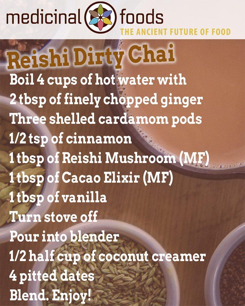Reishi Dirty Chai