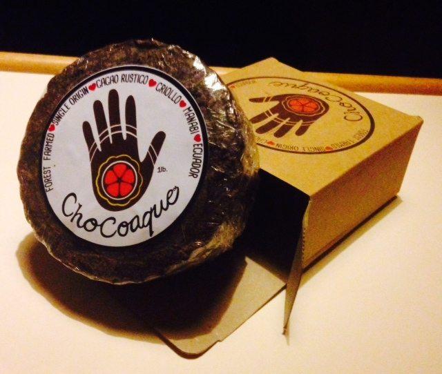 Image for ChoCoaque Wheel: Heirloom Ecuadorian Cacao Paste