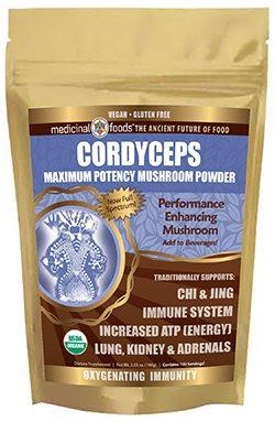 cordyceps mushroom gold standard