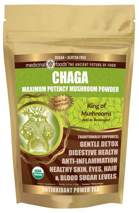 Chaga Mushroom Medicinal Mushroom Powder