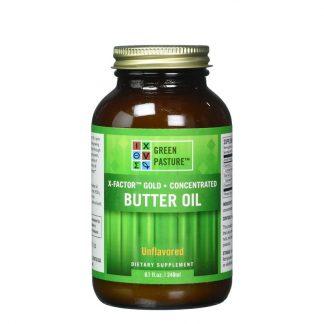 Green Pasture X-Factor Gold High Vitamin Butter Oil