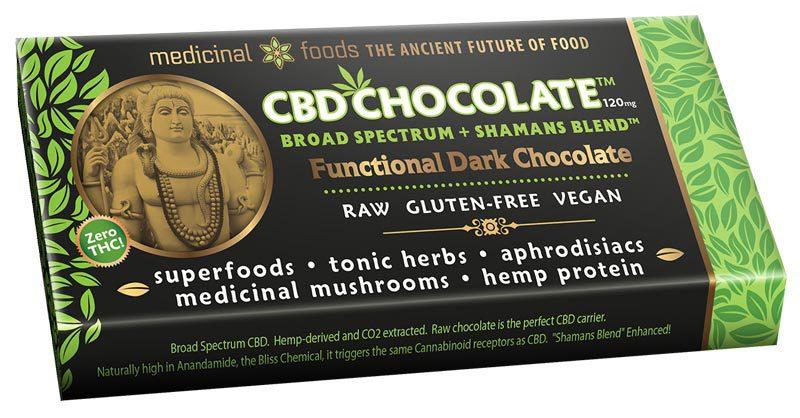 Cbd Chocolate Lovers Bar Organic