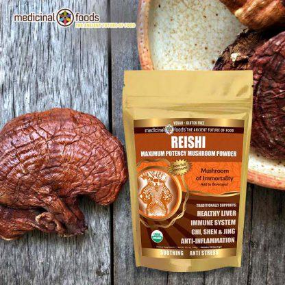 Red Reishi Mushroom Powder Ganoderma