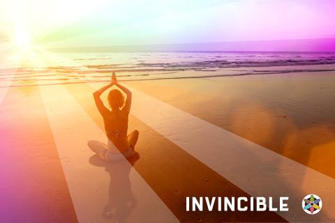 Invincible Immunity Everlasting Energy Woman Beach
