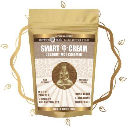 Smart Cream Coconut Mct Oil Lions Mane Nootropic