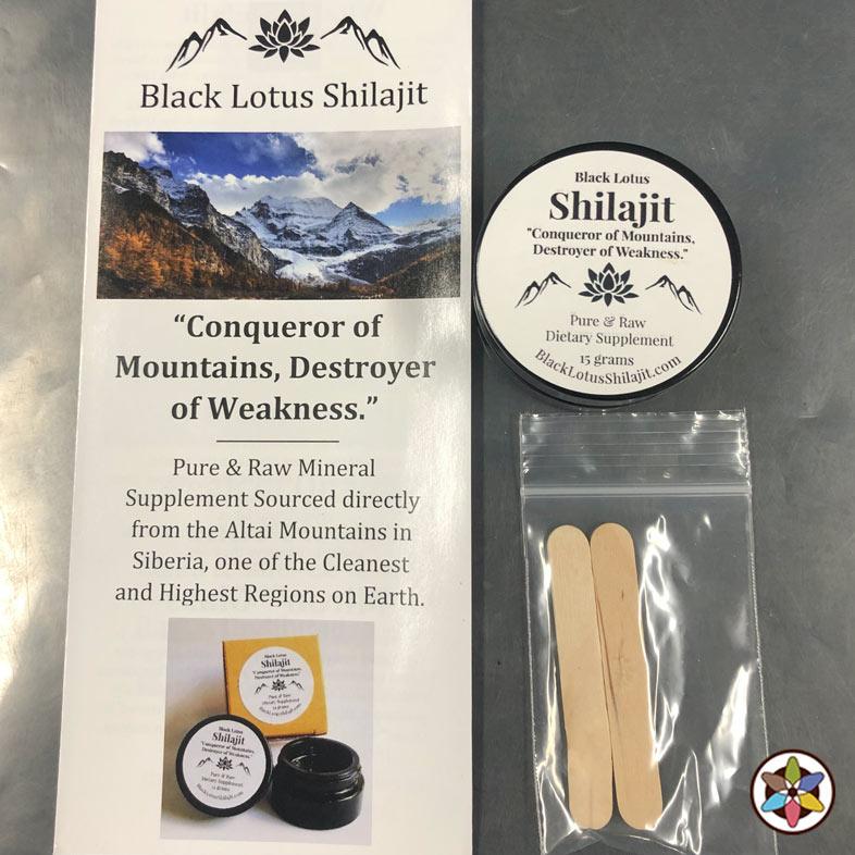 Black Lotus Shilajit Supplement Items