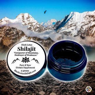 Shilajit Black Lotus Dietary Supplement Medicinal Foods